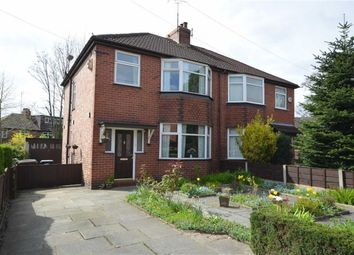 Thumbnail 3 bed semi-detached house for sale in Meadow Bank, Heaton Norris, Stockport, Greater Manchester