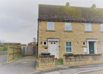 Thumbnail 3 bed end terrace house to rent in Dexter Way, Warmington, Peterborough