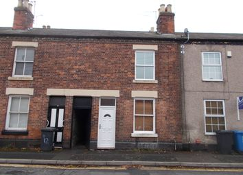 Thumbnail 1 bed terraced house to rent in Fox Street, Derby