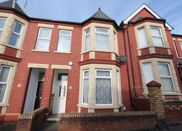 Thumbnail 3 bed terraced house for sale in Cross Street, Barry