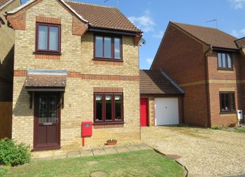 Thumbnail 3 bedroom detached house for sale in Maxey Close, Market Deeping, Peterborough