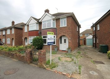 Thumbnail 3 bed semi-detached house to rent in Lodge Way, Staines Upon Thames, Ashford, Surrey