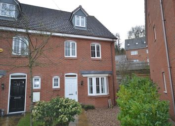 Thumbnail 4 bed end terrace house for sale in Chervil Close, Clayton, Newcastle-Under-Lyme