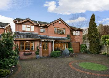 Thumbnail 5 bed detached house for sale in Spinney Close, Chase Terrace, Burntwood