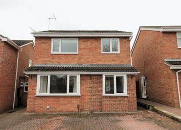 Thumbnail 4 bed detached house for sale in Lasne Crescent, Brockworth, Gloucester