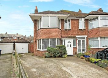 Thumbnail 4 bed semi-detached house for sale in Douglas Close, Worthing, West Sussex