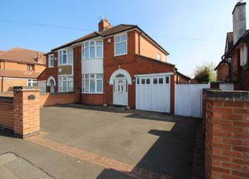 Thumbnail 3 bedroom semi-detached house for sale in Abbots Road South, Leicester