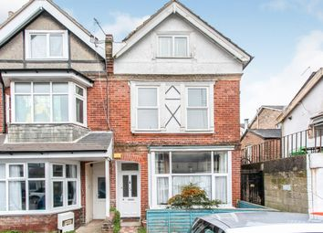 Thumbnail 3 bedroom maisonette for sale in Salisbury Road, Boscombe, Bournemouth