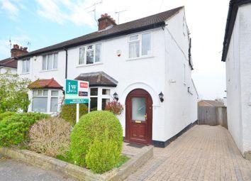 Thumbnail 4 bed semi-detached house for sale in Clay Lane, Bushey Heath, Bushey