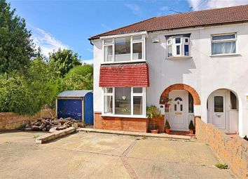 Thumbnail 3 bed semi-detached house for sale in Cross Way, Rochester, Kent