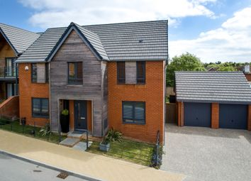 Thumbnail 4 bedroom detached house for sale in Portsea View, Bedhampton, Havant
