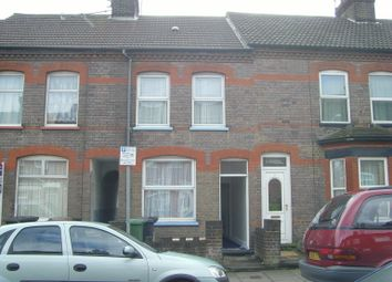 Thumbnail 2 bed terraced house to rent in Althorpe Road, Luton