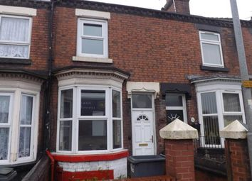 Thumbnail 2 bed terraced house for sale in Williamson Street, Tunstall, Stoke On Trent, Staffs