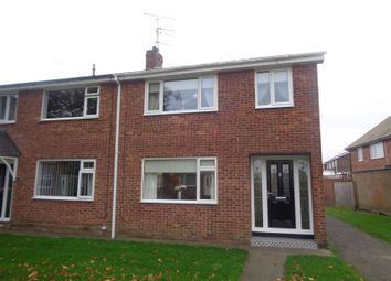 Thumbnail 3 bed terraced house for sale in Hepple Court, Blyth