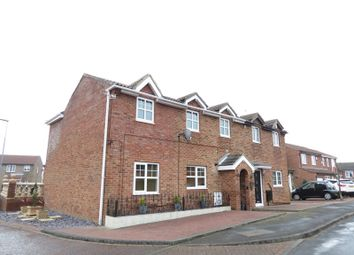 Thumbnail 4 bed semi-detached house for sale in Brougham Court, Peterlee