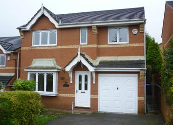 Thumbnail 4 bed detached house to rent in Oakfield Grove, Biddulph, Stoke-On-Trent