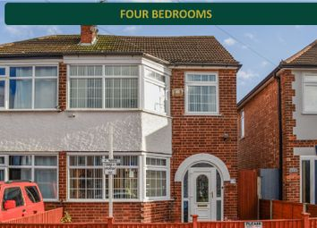 Thumbnail 4 bed semi-detached house for sale in Trenant Road, Aylestone, Leicester