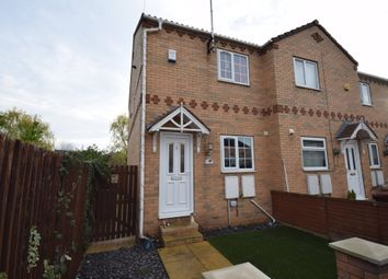 Thumbnail 2 bed town house for sale in Tennants Court, Cow Lane, Knottingley