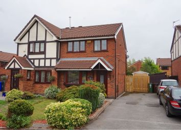 Thumbnail 3 bed semi-detached house for sale in Canterfield Close, Manchester
