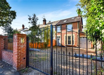 Thumbnail 5 bedroom end terrace house for sale in Frimley Road, Camberley, Surrey