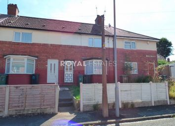 Thumbnail 2 bed terraced house to rent in Milton Road, Smethwick