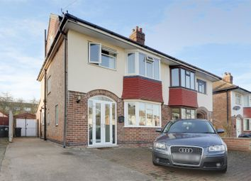 Thumbnail 4 bed semi-detached house for sale in Kingswood Road, West Bridgford, Nottinghamshire