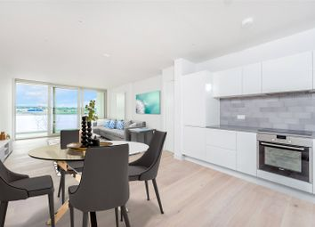 Thumbnail 2 bedroom flat for sale in Liner House, 16 Admiralty Avenue, Royal Wharf, London