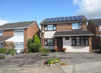 Thumbnail 4 bedroom detached house for sale in Lon Werdd, Cardiff