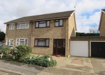 Thumbnail 3 bed semi-detached house for sale in Dartview Close, Grays