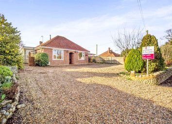 Thumbnail 3 bedroom detached bungalow for sale in Weybourne Road, Bodham, Holt