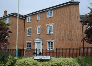 Thumbnail 4 bed town house for sale in Queen Elizabeth Drive, Taw Hill, Swindon