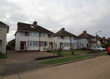 Thumbnail 4 bedroom semi-detached house to rent in Greenway, Chatham
