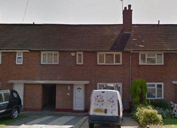 Thumbnail 3 bed terraced house for sale in Longfield Road, Northfield, Birmingham