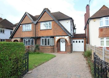 Thumbnail 3 bed semi-detached house for sale in Village Way, Ashford, Surrey