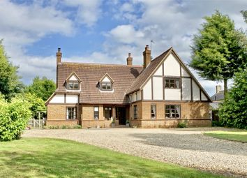 Thumbnail 4 bed detached house for sale in High Street, Tilbrook, Huntingdon