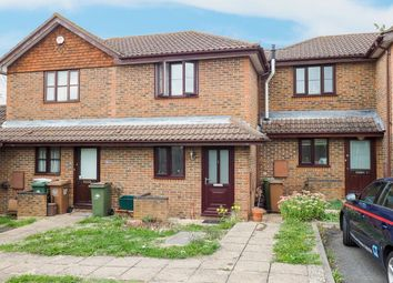 Thumbnail 1 bed terraced house for sale in Cobham Close, Wallington
