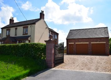 Thumbnail 4 bed detached house for sale in Godley Lane, Dilhorne, Stoke-On-Trent