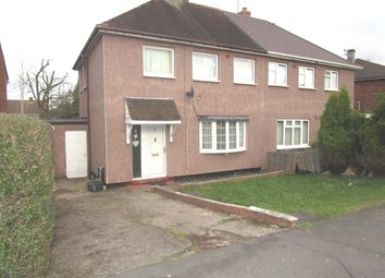 Thumbnail 3 bedroom semi-detached house for sale in Elmdon Road, Oxley, Wolverhampton