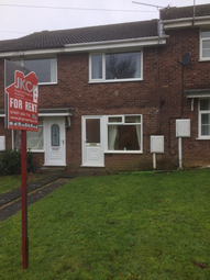 Thumbnail 2 bed terraced house to rent in Valley View Drive, Scunthorpe