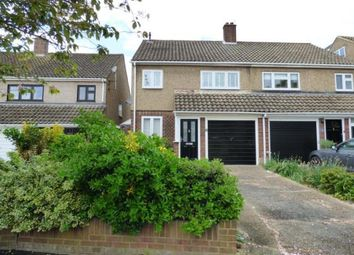 Thumbnail 3 bed semi-detached house for sale in Tabrums Way, Cranham, Upminster