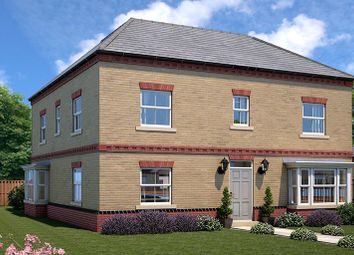Thumbnail 4 bed link-detached house for sale in Plot 6, The Chatsworth, Elmete Lane, Leeds