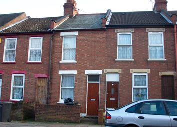 Thumbnail 2 bed terraced house to rent in Ash Road, Luton, Beds
