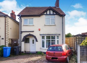 Thumbnail 3 bed detached house for sale in Walsall Road, Walsall
