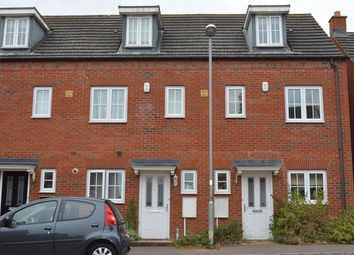 Thumbnail 3 bed town house to rent in Grenadier Close, Bedford