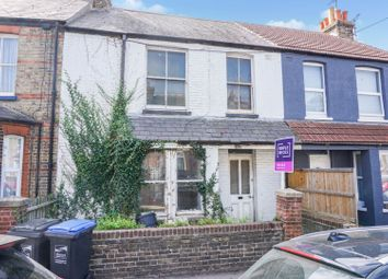 Thumbnail 3 bed terraced house for sale in Victoria Avenue, Margate