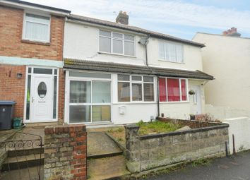 Thumbnail 3 bed terraced house for sale in Manor Road, Dover
