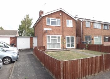 Thumbnail 3 bed detached house for sale in Dunsville Walk, Rushey Mead, Leicester
