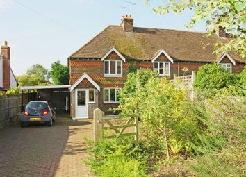 Thumbnail 2 bed semi-detached house to rent in Rye Road, Sandhurst, Cranbrook