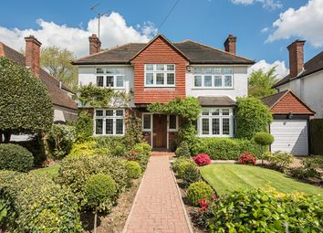Thumbnail 4 bed detached house to rent in Old Barn Lane, Croxley Green, Rickmansworth