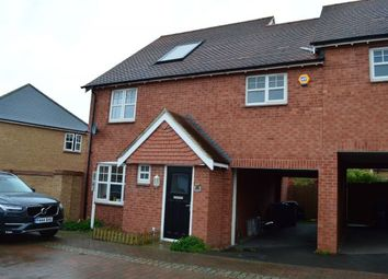 Thumbnail 4 bed link-detached house to rent in Einstein Crescent, Duston, Northampton